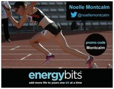 "NOELLE MONTCALM: Noelle is a Canadian National Team athlete in the 400m hurdlers. ""Using ENERGYbits will fit into my sport because as an elite athlete, it is important to ensure what I am ingesting is clean, natural, and effective. ENERGYbits gives me the energy I need right before practice. I especially love that ENERGYbits are a food and not another supplement."""