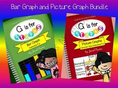 G is for Graphs: Bar Graph and Picture Graph Bundle from Jewel Pastor on TeachersNotebook.com -  (136 pages)  - G is for Graphs: Bar Graph and Picture Graph Bundle (COMMON CORE ALIGNED) consists of interactive fun activities that can be used to learn about bar graphs and picture graphs.