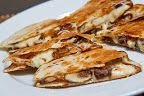 Closet Cooking: Spinach and Feta Quesadillas