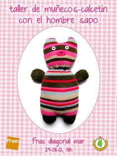 muñecos calcetín