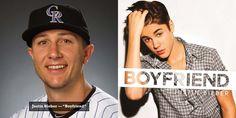 "Troy Tulowitzki - ""Boyfriend"" by Justin Bieber"