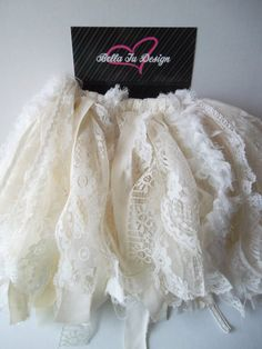 Lace tutu @Melissa Squires Squires Holland more like this :)