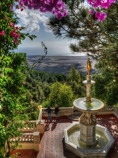 View from Hearst Castle, San Simeon,