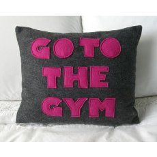 Motivational pillow