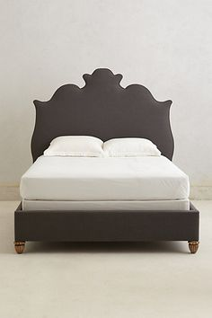 anthro regency linen bed - love!!