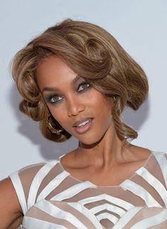 Tyra Banks Vintage Short  Hairstyle