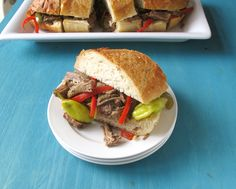 Italian Beef Sandwiches - Read More at Relish.com