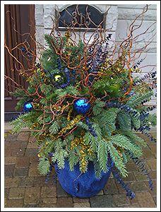 Decor ideas winter flowers arrangements christmas porches christmas