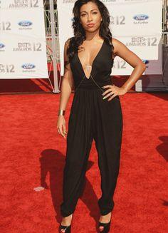 Melanie Fiona at the 2012 BET Awards