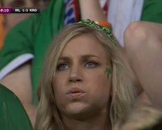 hot Ireland fan
