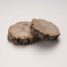 So chic on any table / Natural Cork Branch Coaster
