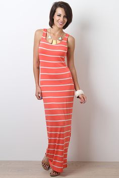Across The Line Maxi Dress