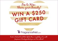 Valentine's Day #PINtoWin: Share Your Beauty  #FragranceNet