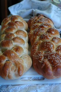 Challah Bread Recipe: This slightly sweet loaf is traditionally made for the Jewish Sabbath and is braided. Way easier than it looks!