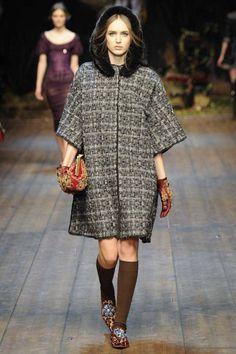 Dolce & Gabbana Winter 2015 Collection #MFW #AW14  #FashionWeek fashion, catwalk, autumn, runway fall14, fall 2014, 2014 inspir, rtw aw14, 2014awfal readytowear, 2014 readytowear