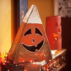 Candy Corn Jack O' Lantern