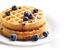 Van's blueberry waffles are so delicious! You're not missing out on anything with Van's. Dig in and enjoy!