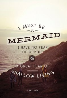I find it funny that Ariel wanted to be a human because I always wanted to be a mermaid <3