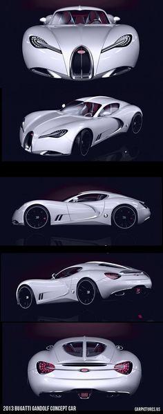 2013 Bugatti Gandolf Concept Car