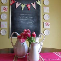 I love this chalkboard!