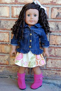 Doll skirt - FREE pattern