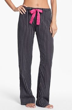 PJ Salvage 'Pop of Pink' Lounge Pants | Nordstrom