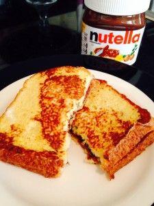 French Toast Nutella breakfast!