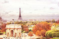 vista do Louvre