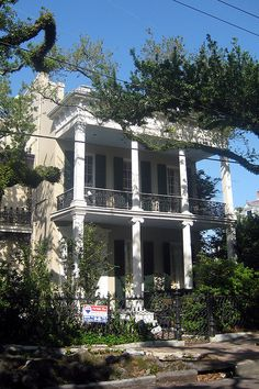 New Orleans - Garden District: Brevard-Wisdom-Rice House
