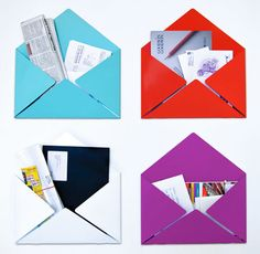 Envelope Mail Holders by Goodwin + Goodwin