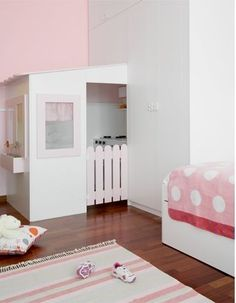 A playhouse IN the bedroom