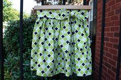 toddler tie skirt DIY