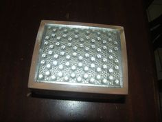 Vintage Merle Norman Marbled and Crystal Look Powder Box Only | eBay