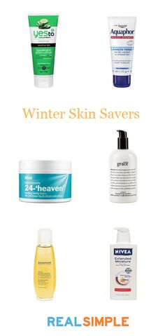 6 solutions to dry, winter skin