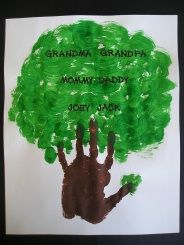 cute family tree for grandparent's day