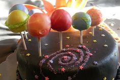 Planet cake pops by Cake Maniac, via Flickr
