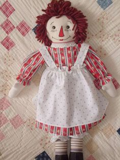 Another one of my dolls from the McCalls 820 pattern from 1940 - made by Louise Dolan pattern