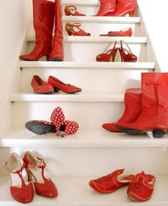Some red footwear to go with your Go Red for Women outfit. #heart_disease #heart_disease_awareness #heart #awareness #health