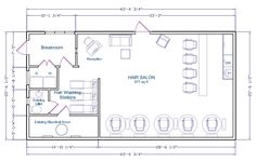 Salon Floor Plans Day Spa Level Design Joy Studio Design