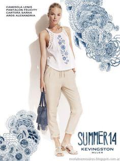 Kevingston Mujer 2014. Moda 2014. Moda verano 2014 en ropa de mujer estilo casual urbano.
