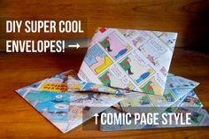 More Photos, Less Words: DIY Comic Envelopes