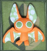 Sleepy and Wired Batty Plush by pookat on deviantART