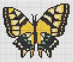 Cross me not: Yellow butterfly