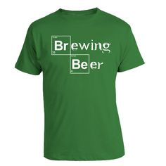 Brewing Beer  Home Brewing Heisenberg TShirt by brewershirts