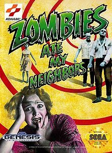 Zombies Ate My Neighbors (SNES): A campy shoot-em-up game featuring every monster in horror history, who are all hungry for Zeke and Julie's unwitting neighbours. Nothing a squirt gun and some cans of pop can't handle. One of the most fun games I have ever played - I really must get this for my Wii.