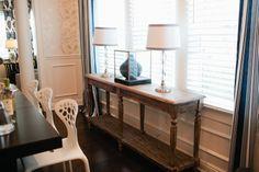 #Dreambuilders designer Dann's re-designed #diningroom. #design #renovation #homeimprovement  #TeamBlue