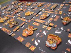 Second Grade Model Magic mini masks