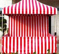 School carnival booth