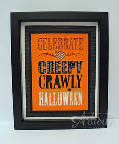 Artisan Wednesday Wow: Hybrid Halloween Project by Cathy Caines @Stampin' Up!