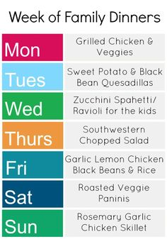 A Week of Gluten-Free Dinners - Kids Stuff World